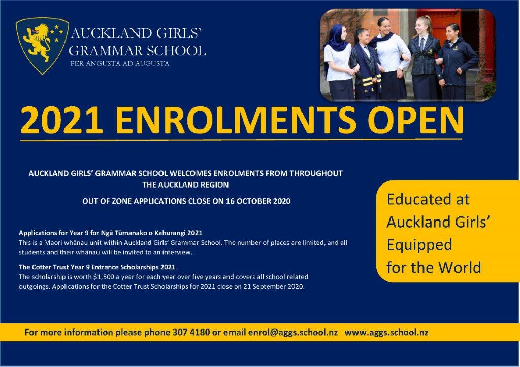 2020 OPEN DAY AD FINAL